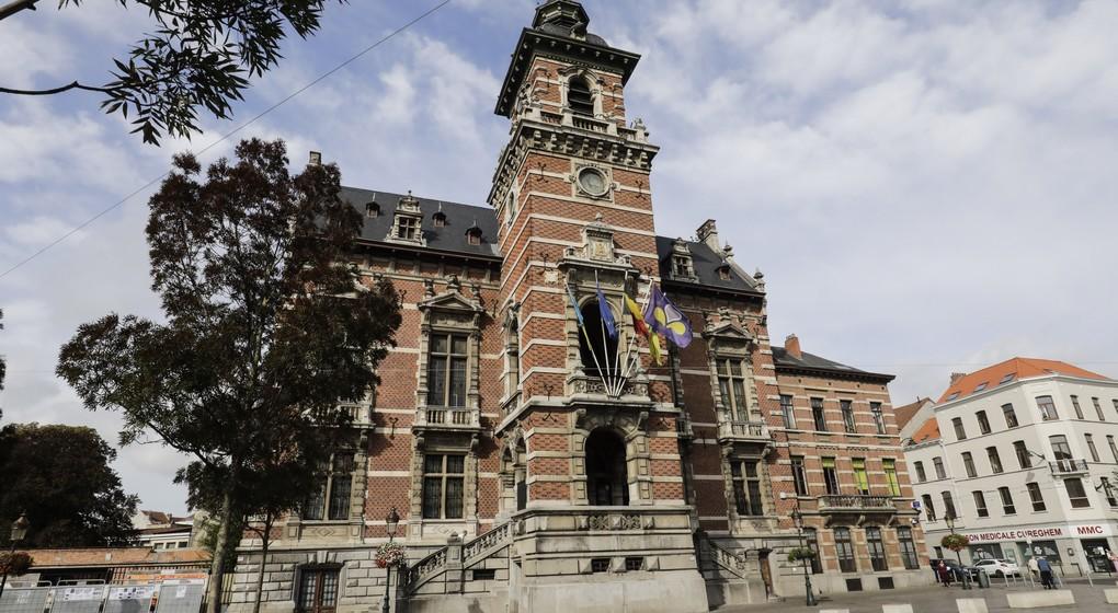 Hôtel de Ville Anderlecht - Belga Thierry Roge