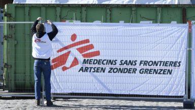 MSF forme les volontaires de maisons médicales qui aident en maison de repos