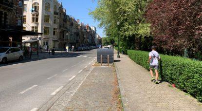 Jogging Parc Josaphat Schaerbeek Confinement - Thomas Dufrane BX1