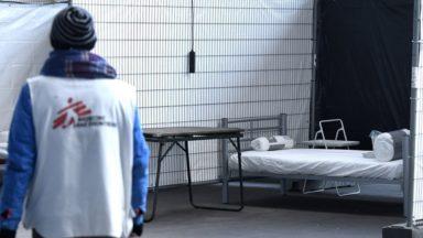 Le centre de MSF à Bruxelles ne réduit pas encore sa capacité d'accueil