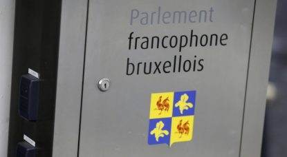 Logo - Parlement francophone bruxellois Cocof - Belga Nicolas Maeterlinck