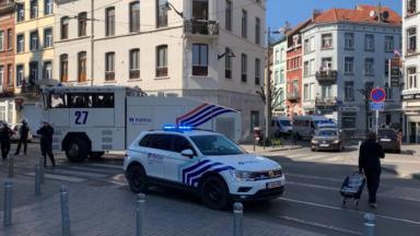 11 suspects interpellés dans le cadre de l'enquête sur les émeutes à Anderlecht