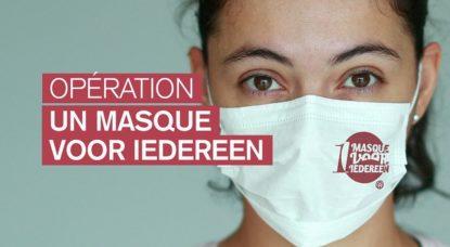 Opération 1 masque pour iedereen - Commune Auderghem