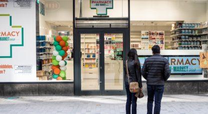 Pharmacie Illustration Rue Neuve - Belga Loan Silvestre