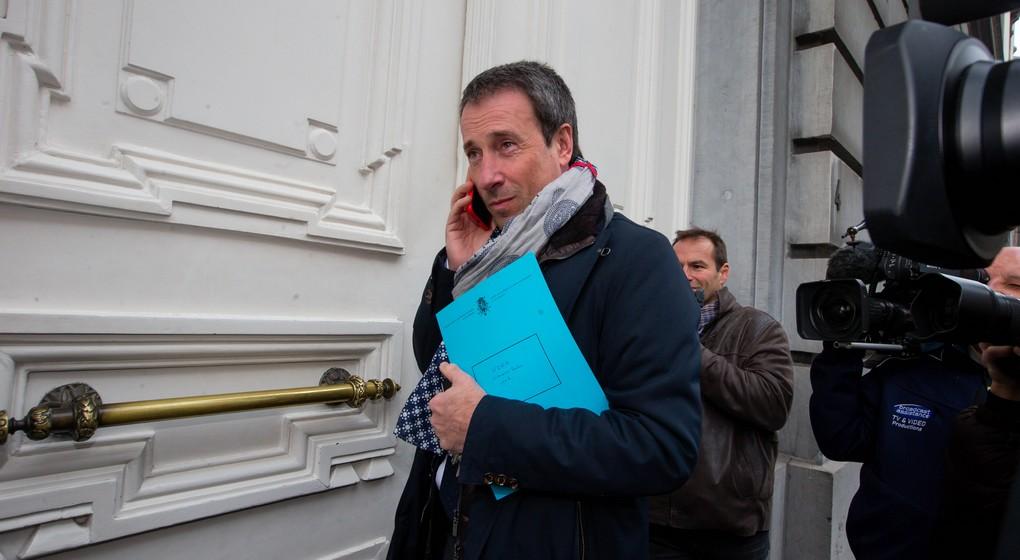 Philippe Goffin - Ministre de la Défense - Belga Nicolas Maeterlinck