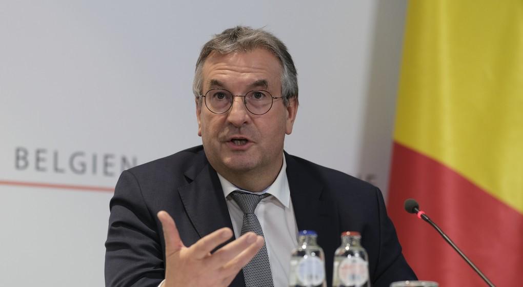 Pierre-Yves Jeholet - Ministre-président Fédération Wallonie-Bruxelles - Belga Pool Olivier Hoslet