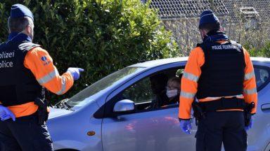 La police de Bruxelles intercepte 20 automobilistes sous influence lors d'un contrôle