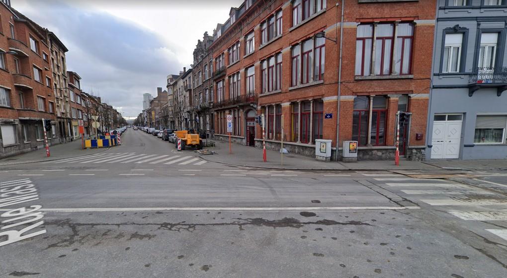 Schaerbeek - Rue Masui et rue des Palais - Google Street View