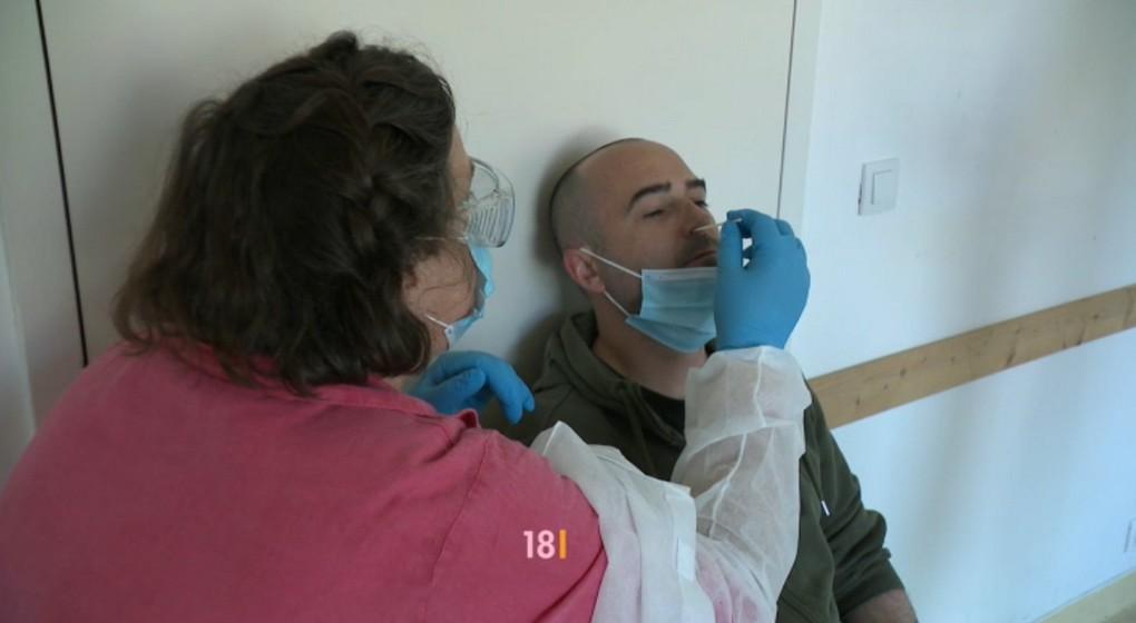 Test Dépistage Coronavirus - Capture BX1 18h