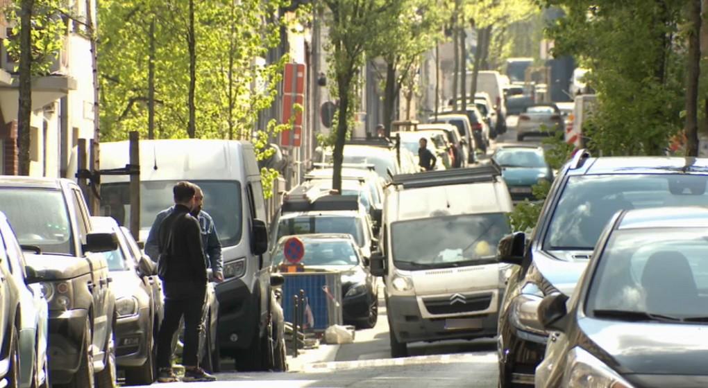 Voitures Parking Stationnement Saint-Josse - Capture BX1