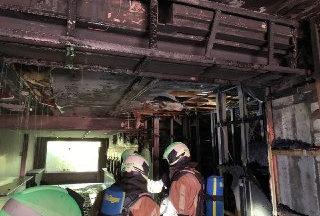 Jette : un lavoir sinistré après un incendie