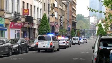 Intervention de la police à Ixelles suite à des violences domestiques