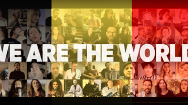 "60 artistes belges reprennent ""We Are The World"" en hommage au personnel soignant"