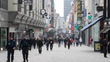 Le commerce bruxellois subira de manière prolongée l'effet du recul du secteur du tourisme