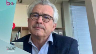 """Bernard Clerfayt : """"On peut craindre une augmentation de 15 000 à 30 000 chômeurs à Bruxelles"""""""