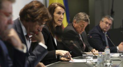 CNS Conseil National de Sécurité - Belga Daina Le Lardic