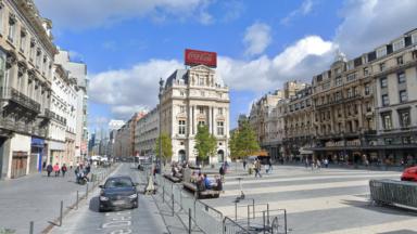 Dès lundi, les voitures seront entièrement interdites sur la place De Brouckère