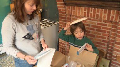 Schaerbeek : des kits pédagogiques distribués aux familles pour occuper les enfants
