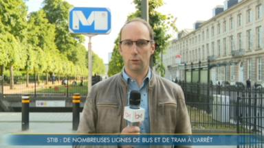 Des perturbations sur le réseau Stib : le métro roule, les trams et bus fortement impactés