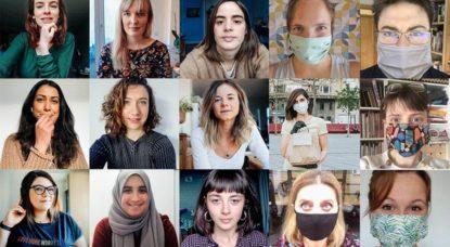 Montage Bénévoles Solidarité Coronavirus Bruxelles - Emilie Eickhoff
