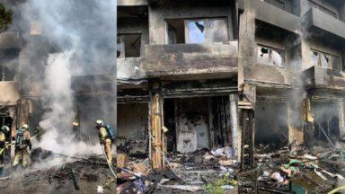 Ixelles : deux logements détruits et une femme dans un état préoccupant suite à un incendie