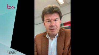 """Sven Gatz : """"La santé des finances publiques bruxelloises est toujours sous contrôle"""""""