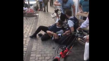 Violences contre des policiers à Anderlecht : quatre jeunes hommes inculpés