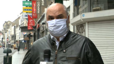 """Ixelles : """"Respectez le port du masque"""""""