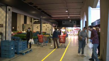 Le Foodmet, le marché des abattoirs d'Anderlecht, rouvre ses portes