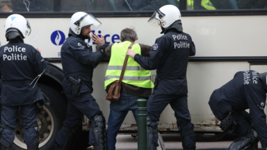La police en tort lors d'arrestations de gilets jaunes à Bruxelles