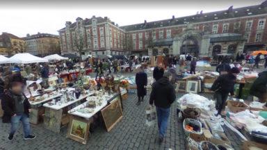 Ville de Bruxelles : réouverture des marchés de moins de 50 commerçants mais pas de celui de la place du Jeu de balle