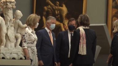 Le Roi et la Reine ont visité les Musées royaux des Beaux-Arts