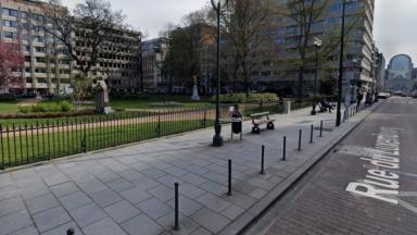 """Ixelles : la statue du """"Général Storms"""" va quitter le square de Meeûs"""