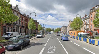 Boulevard Leopold II - Capture Google Street View