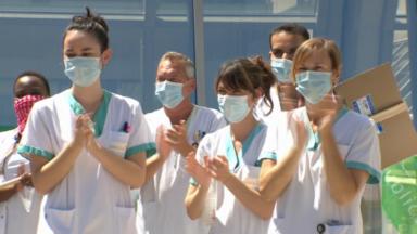 150 soignants du réseau Iris ont rendu hommage à une collègue décédée du Covid-19