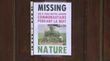 Schaerbeek : le jardin citoyen de la rue Devreese a été enlevé par la commune