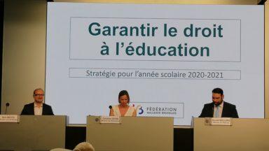 Enseignement : voici les nouvelles mesures pour la rentrée scolaire à Bruxelles