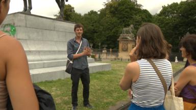 Balade dans Bruxelles sur les traces de la colonisation avec Gaspard Giersé
