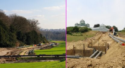 Domaine royal de Laeken - Photo rénovations Régie des Bâtiments