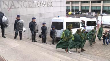 Extinction Rebellion : une soixante d'activistes arrêtés administrativement hier soir