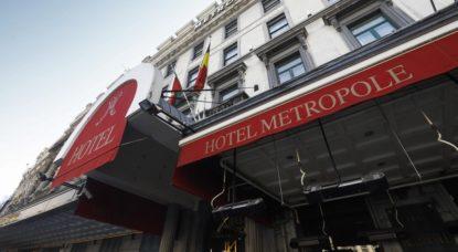 Hotel Metropole De Brouckère - Illustration Belga Thierry Roge