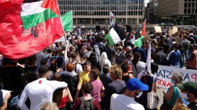 """Manifestation pro-Palestine : le CCOJB dénonce des """"appels à la guerre contre les juifs"""", la Ligue contre l'antisémitisme porte plainte"""