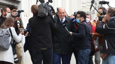 Rencontre entre Close et Wilmès : le prochain CNS se penchera sur les manifestations