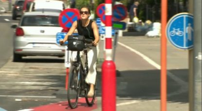 Piste cyclable Boulevard Lambermont - Schaerbeek - Capture BX1