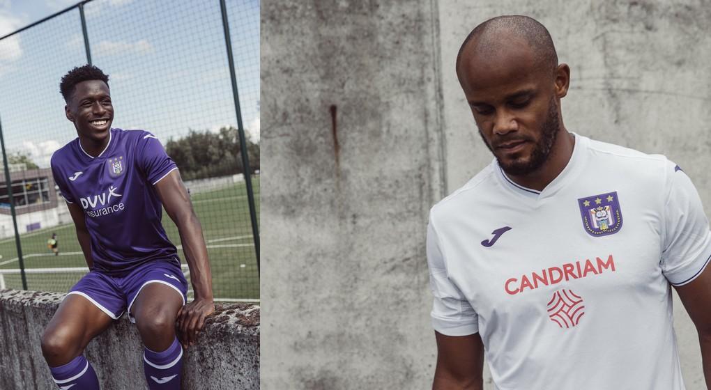 RSC Anderlecht - Nouveaux maillots - Photos RSC Anderlecht