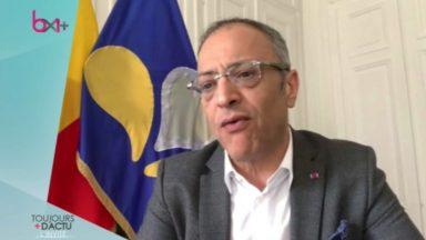 """Rachid Madrane : """"Il est possible d'avoir un gouvernement soutenu par diverses majorités selon les dossiers"""""""