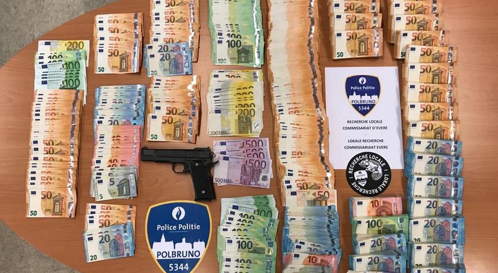 Trafic de drogues - Argent Saisie Police Bruxelles-Nord - Parquet de Bruxelles