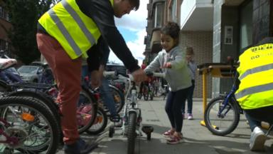 Berchem-Sainte-Agathe met des vélos en location pour les enfants