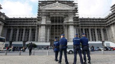 Quatre salles haute sécurité du Palais de Justice de Bruxelles opérationnelles en janvier