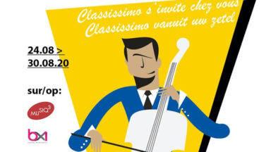 Du 24 au 30 août, découvrez les concerts du festival Classissimo sur BX1